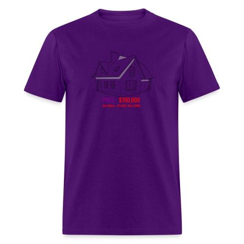 Fannie & Freddie Joke - Men's T-Shirt