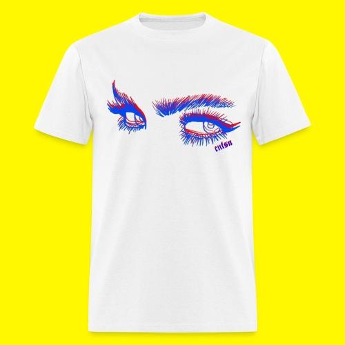 confusion 3D eyes - Men's T-Shirt