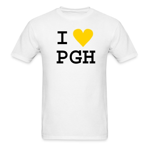 iheartpgh - Men's T-Shirt