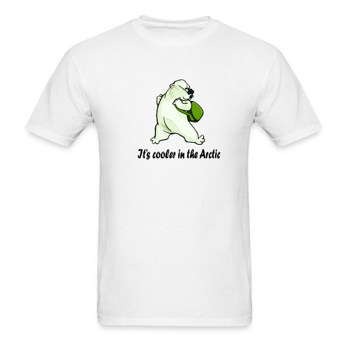 Cooler In The Arctic - Men's T-Shirt