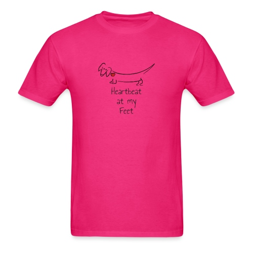 Heartbeat at my Feet - Men's T-Shirt