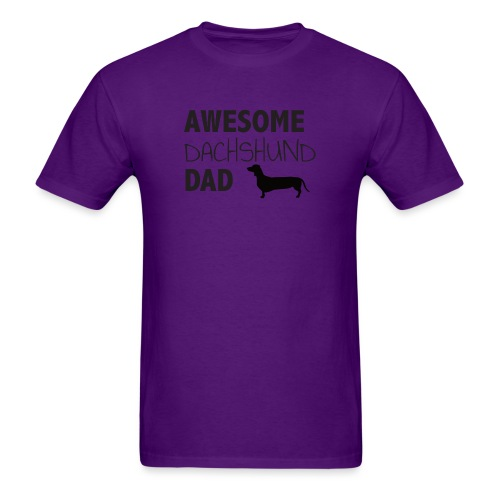 Awesome Dachshund Dad - Men's T-Shirt