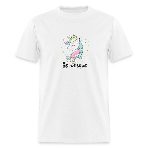 Unique Unicorn - Men's T-Shirt