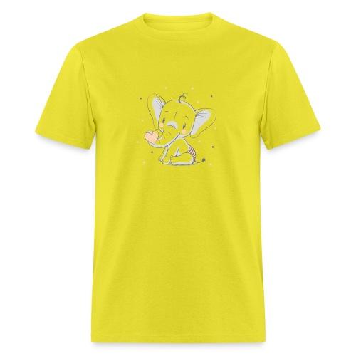 Baby elephant - Men's T-Shirt