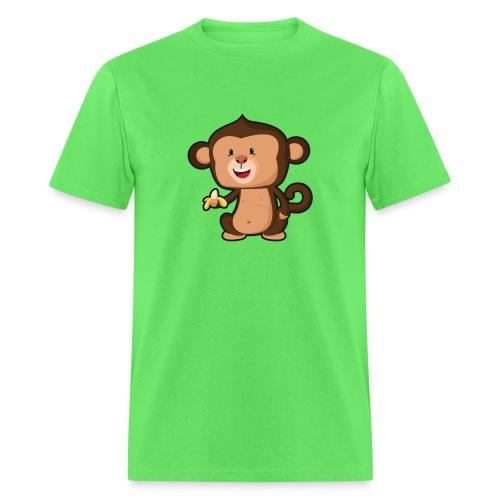 Baby Monkey - Men's T-Shirt