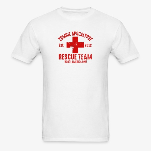 Zombie Help Team - Men's T-Shirt