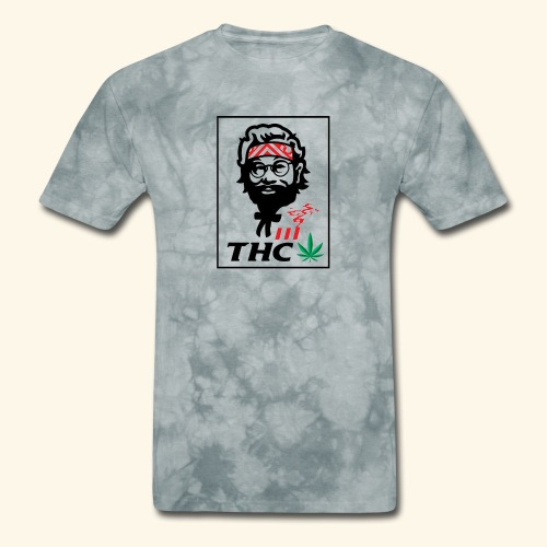 THC MEN - THC SHIRT - FUNNY - Men's T-Shirt