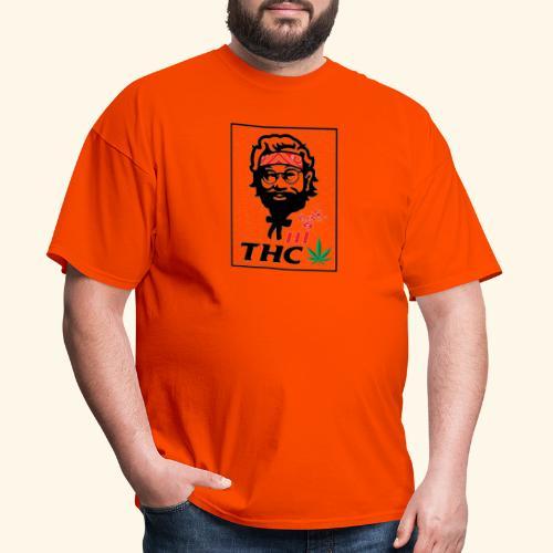 THC MEN - THC SHIRT - FUNNY - Men's T-Shirt