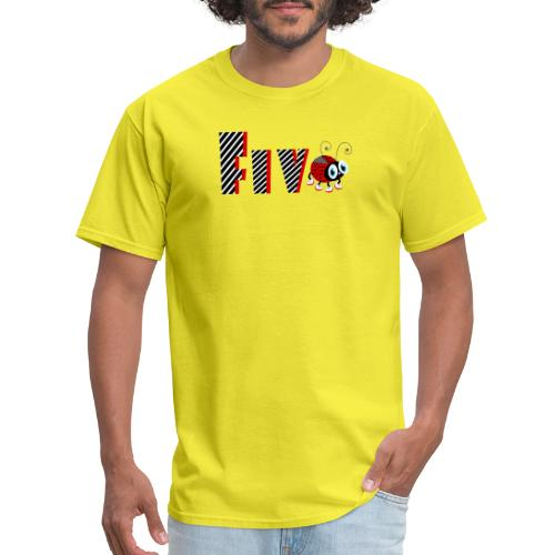 5nd Year Family Ladybug T-Shirts Gifts Daughter - Men's T-Shirt