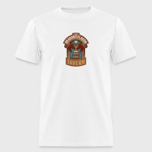 the dragons flagon tavern dragon fantasy - Men's T-Shirt