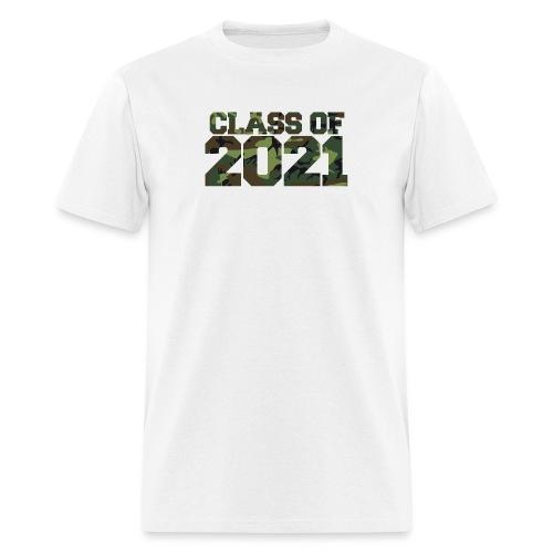 Class of 2021 CAMO - Men's T-Shirt