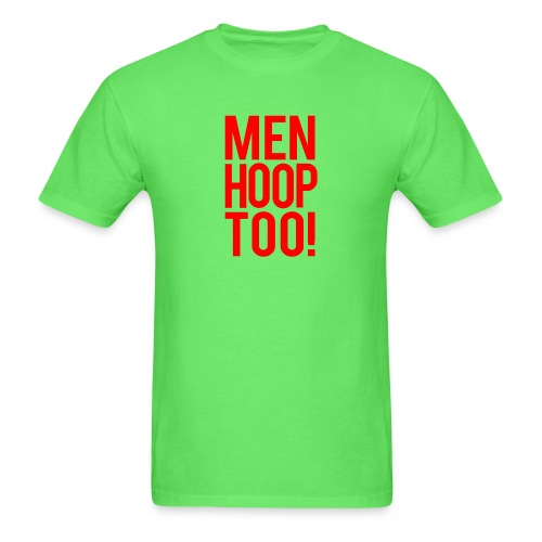 Red - Men Hoop Too! - Men's T-Shirt