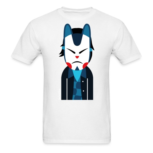 perso-cat-masker - Men's T-Shirt