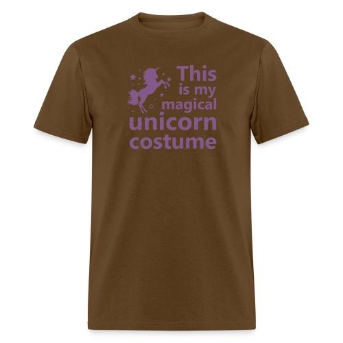 This is my magical unicorn costume - Men's T-Shirt