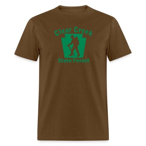 Clear Creek State Forest Keystone Hiker male - Men's T-Shirt