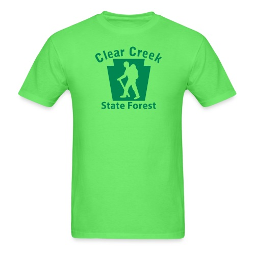 Clear Creek State Forest Keystone Hiker male - Men's T-Shirt