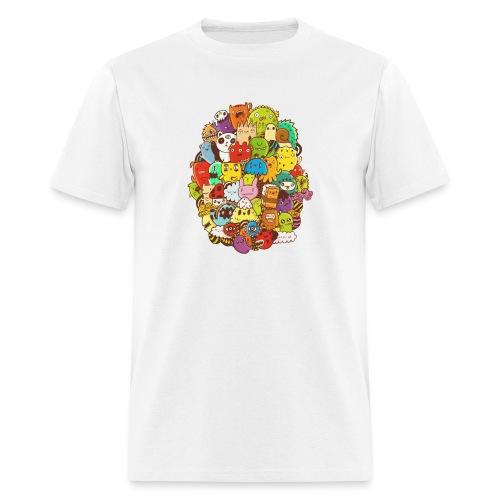 Doodle for a poodle - Men's T-Shirt