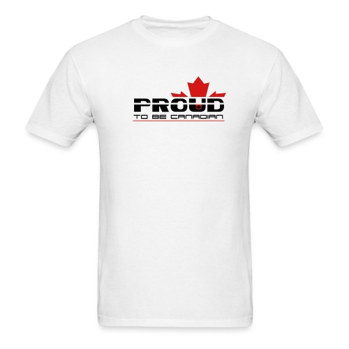 Proud to be Canadian - Men's T-Shirt