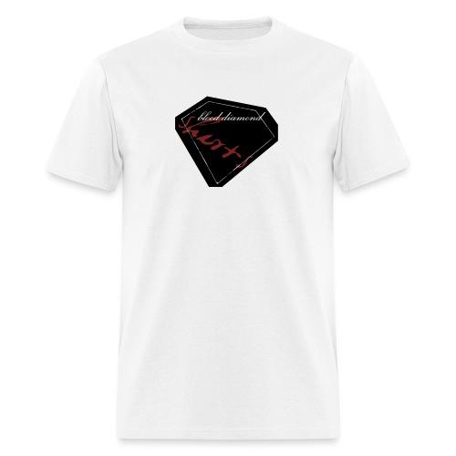 Blood Diamond -black logo - Men's T-Shirt