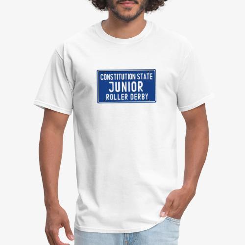 Constitution State Junior Roller Derby - Men's T-Shirt