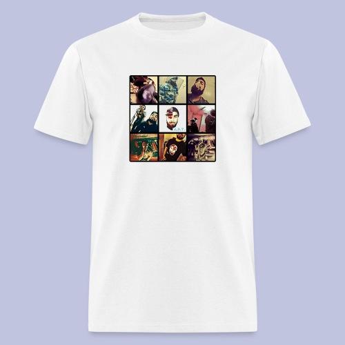 Throwback ART Mixtape Cover - Men's T-Shirt