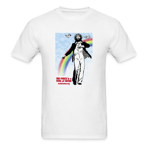 Jesus Loves You and Not Bad Things - Men's T-Shirt