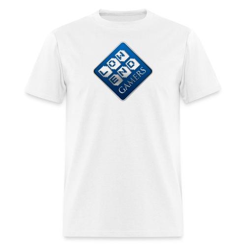 lowendgamers sideways png - Men's T-Shirt