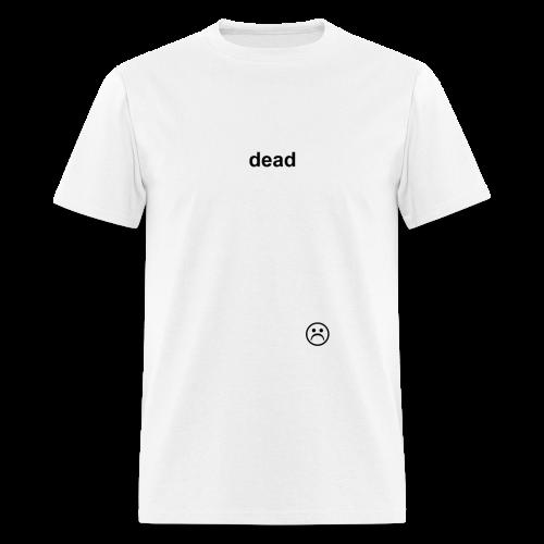 dead WHITE - Men's T-Shirt