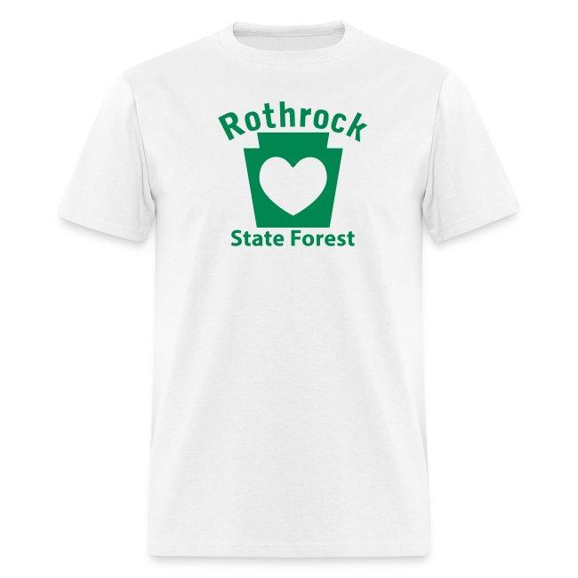 Rothrock State Forest Keystone Heart