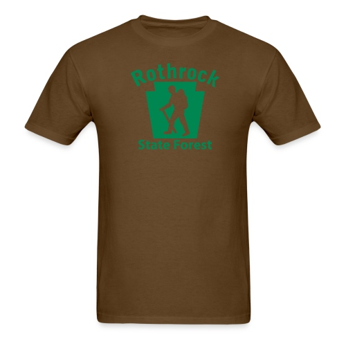 Rothrock State Forest Keystone Hiker male - Men's T-Shirt