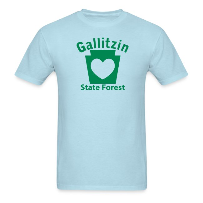 Gallitzin State Forest Keystone Heart