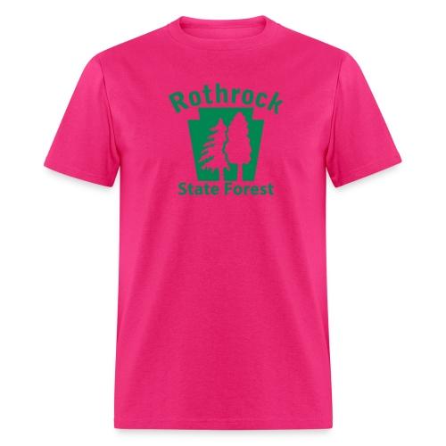 Rothrock State Forest Keystone (w/trees) - Men's T-Shirt