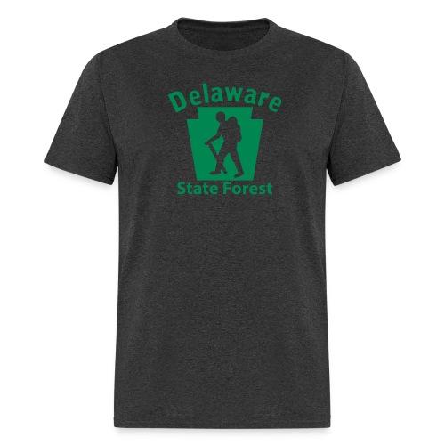 Delaware State Forest Keystone Hiker male - Men's T-Shirt