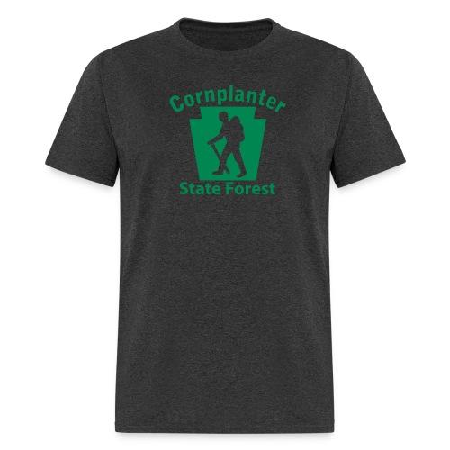 Cornplanter State Forest Keystone Hiker male - Men's T-Shirt