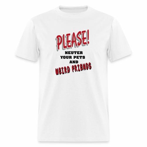 Weird Friends - Men's T-Shirt
