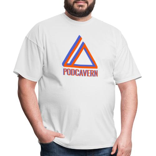 PodCavern Logo - Men's T-Shirt