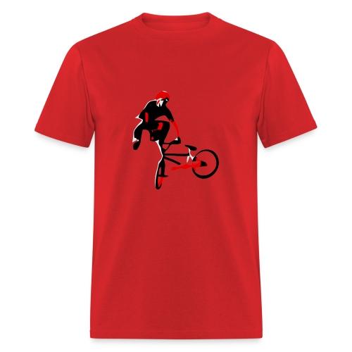 bmx t shirt free vector tailwhip - Men's T-Shirt