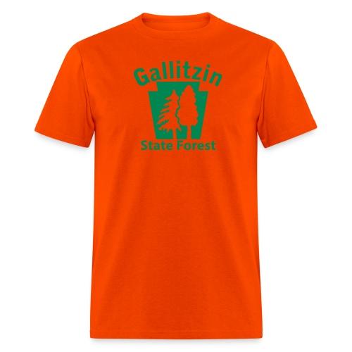 Gallitzin State Forest Keystone (w/trees) - Men's T-Shirt
