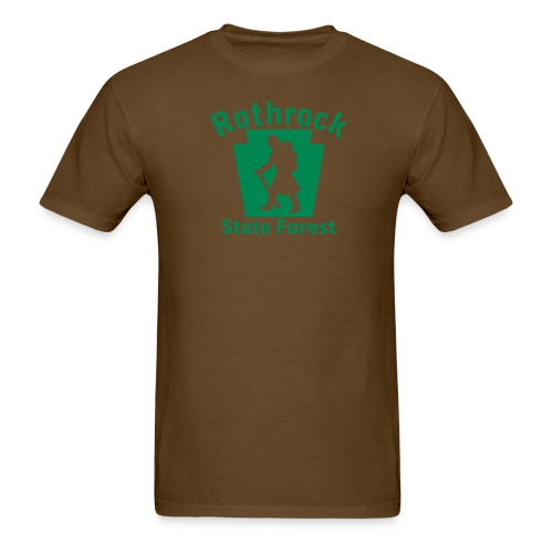 Rothrock State Forest Keystone Hiker female - Men's T-Shirt