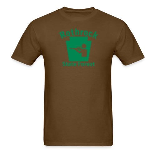 Rothrock State Forest Hunting Keystone PA - Men's T-Shirt