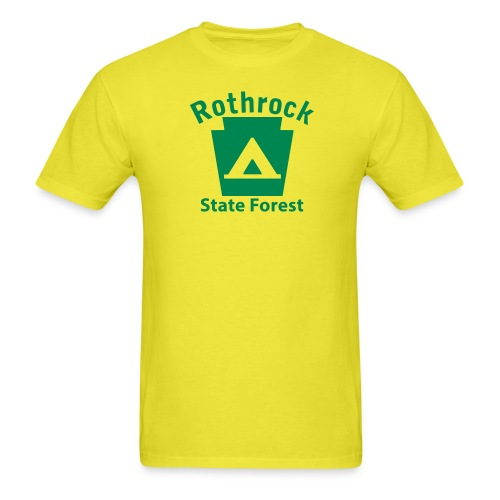 Rothrock State Forest Camping Keystone PA - Men's T-Shirt