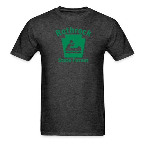 Rothrock State Forest Boating Keystone PA - Men's T-Shirt