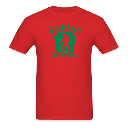 Gallitzin State Forest Keystone Hiker male - Men's T-Shirt