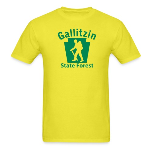 Gallitzin State Forest Keystone Hiker male - Men's T-Shirt