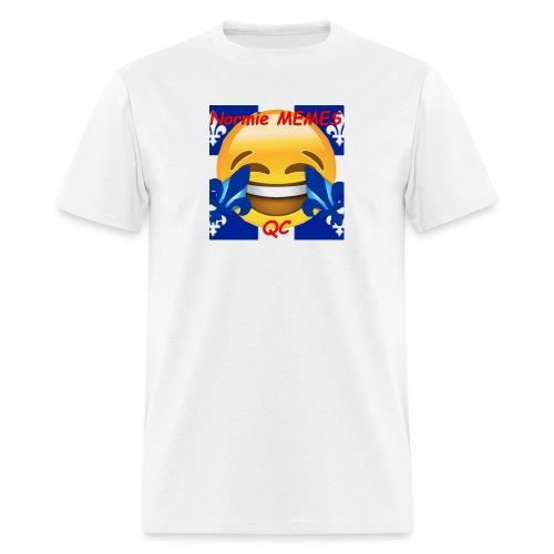 T-Shirt Normie Memes QC BLEU ROI - Men's T-Shirt