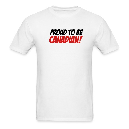 Proud Canadian - Men's T-Shirt