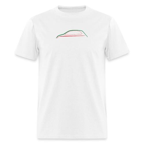FIAT 500 Outline Italia - Men's T-Shirt