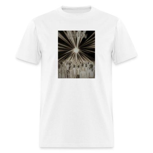 Black_and_White_Vision2 - Men's T-Shirt