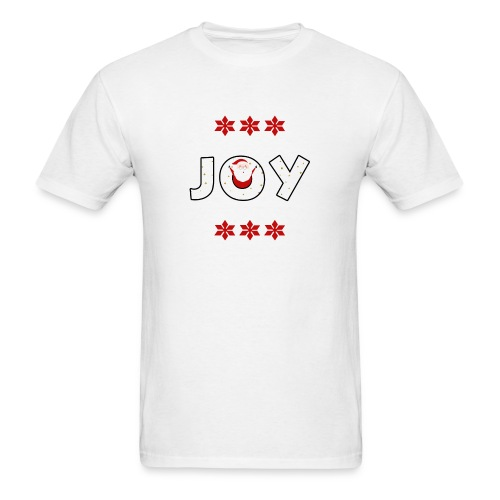 Christmas JOY Santa Clause Ugly Style - Men's T-Shirt
