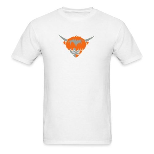 highlander cow RGB2 - Men's T-Shirt
